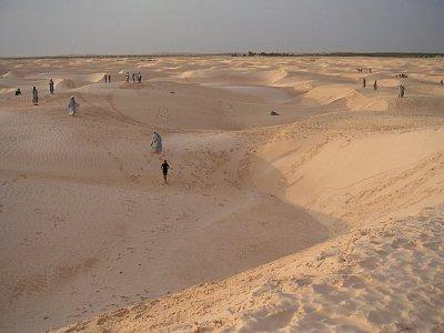Saharské duny