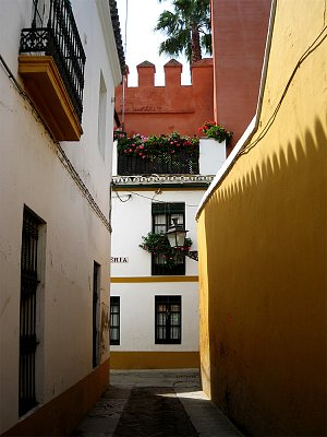 Barrio Santa Cruz – Židovská čtvrt - Distribuováno pod GNU Free Documentation License