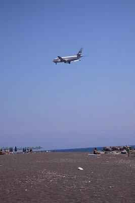 Černé pláže v Kamari (nahrál: Libor)