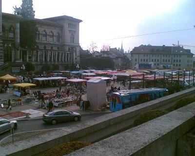 Place de la Riponne (nahrál: Marcel)