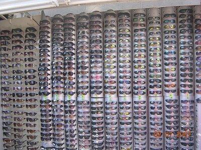 Velký výběr slunečních brýlí (nahrál: Mira)