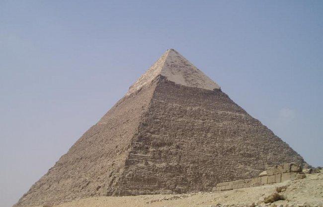 Poprvé v Egyptě