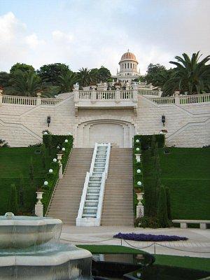 Haifa - pohled na park ještě ve dne 2008 (nahrál: honza)