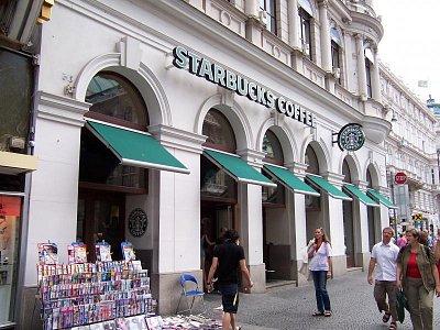 Starbucks na Kärntner Straße  (nahrál: admin)