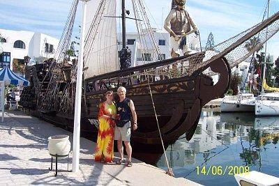 Tunisko - V přístavu. (nahrál: kůzlenka)
