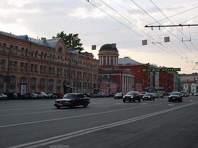 moskevská ulice (nahrál: Kamil Hainc)