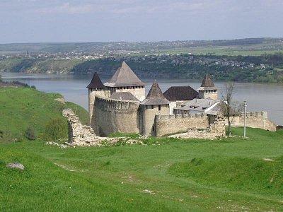Chotyn - pohled na hrad (nahrál: Kamil Hainc)