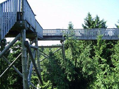 Baumkronenweg - cesta v korunách stromů v Horním Rakousku (nahrál: Jechort)