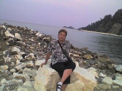 Thassos Golden Beach skala Potamia (nahrál: Marulka777)