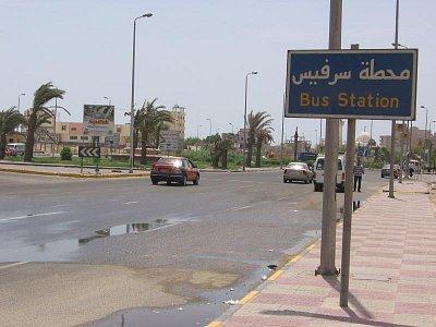 autobusová zastávka v Hurghadě (nahrál: dagbul)