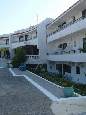 Rhodos-hotel Sivila