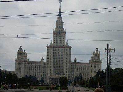 Lomonosovo moskevská univerzita (nahrál: H. Kubíková)