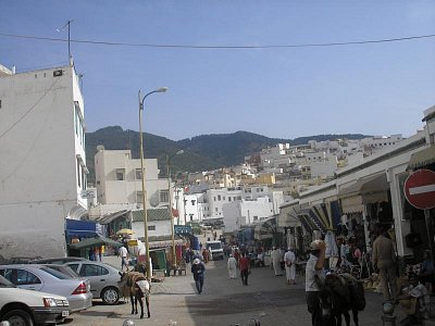 ulice Svatého města