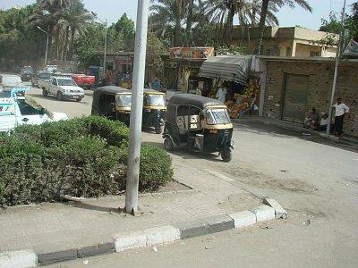 ulice Káhiry (nahrál: Helča2)